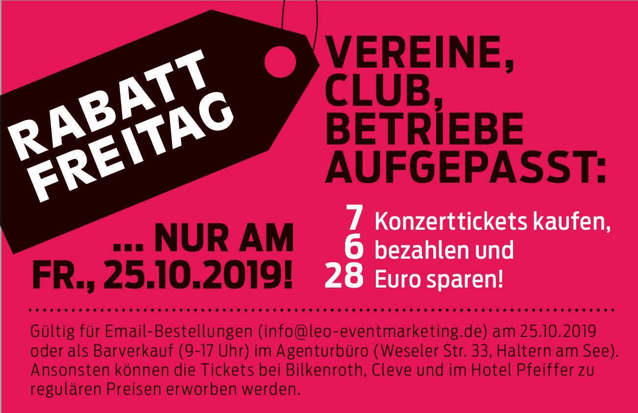 Rabattaktion!! MARIUZZ - Westernhagen Tribute-Konzert Show